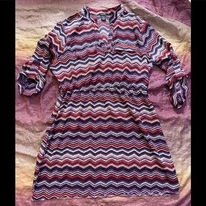 Rue21 Chevron Print Dress